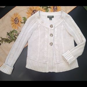 🌻Eddie Bauer Fisherman's Knit Cotton Sweater